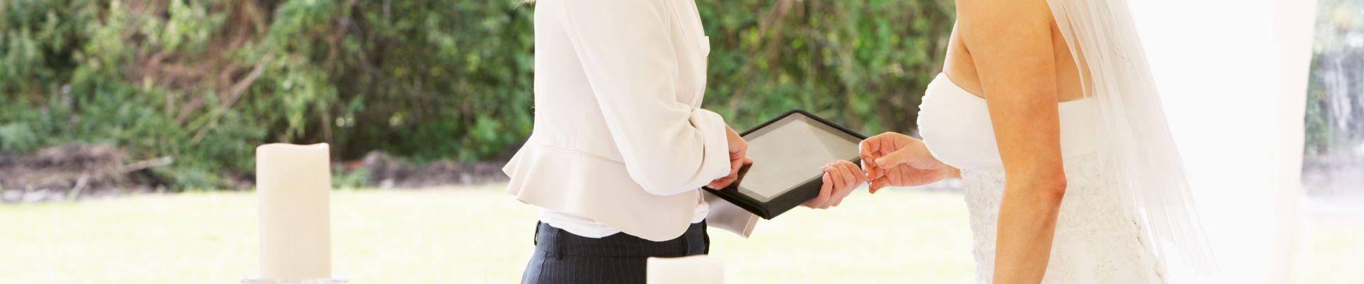 Hochzeitsplaner, weddingplanner, Planer für die Hochzeit, Hochzeitsplanerin