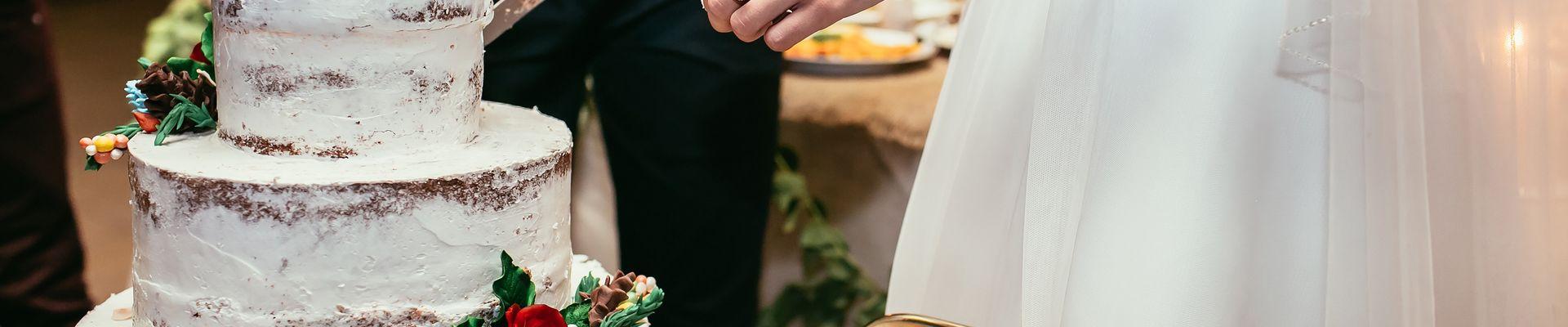 Patisserie, Hochzeitstorte, vintage Hochzeitstorte