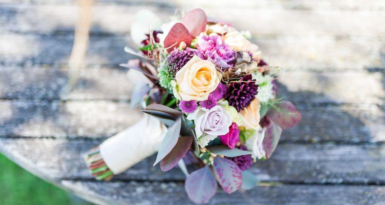 Hochzeit im Garten der Liebe