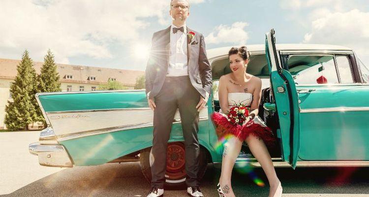 Rockabilly Hochzeit: Amerikanisch, Hipp und verrockt!
