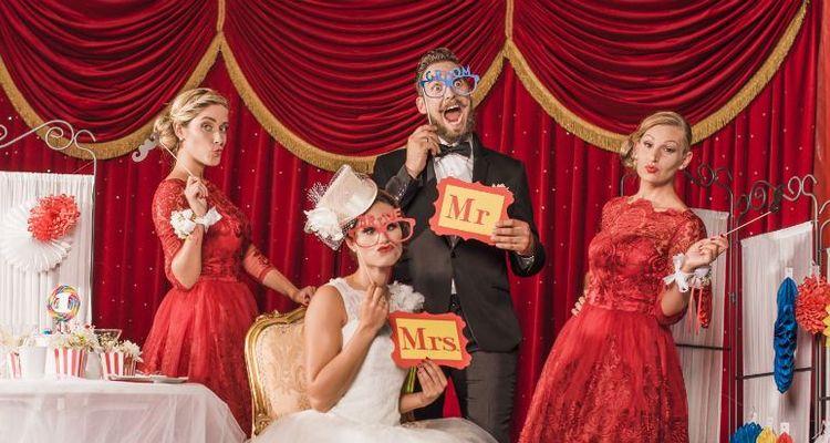 Unkonventionelle Hochzeit Zirkus styled shoot unkonventionell heiraten