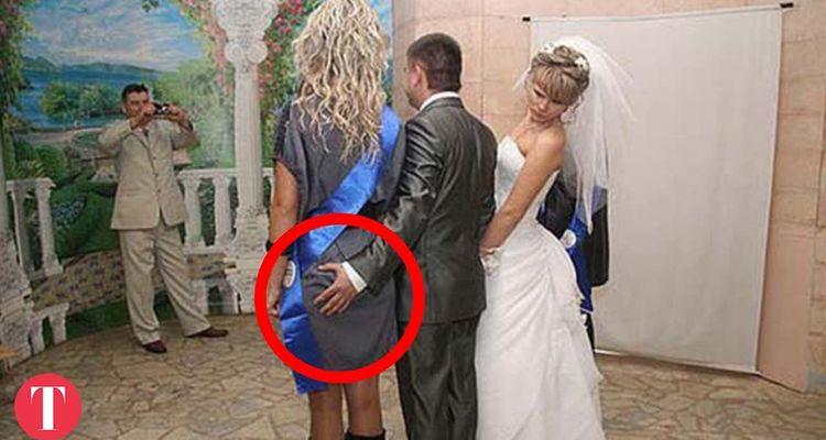 lustige Hochzeitsvideos: Pannen auf der Hochzeit
