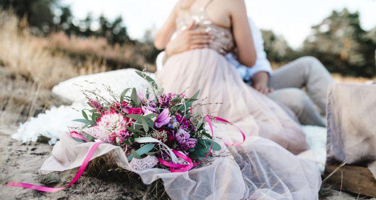 Brautfrisuren echte blumen