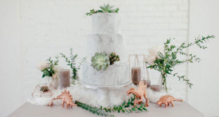 Marmor Hochzeitstrend 2017