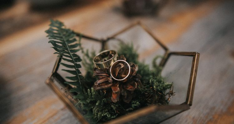 Ringkissen / Ringschale Hochzeit