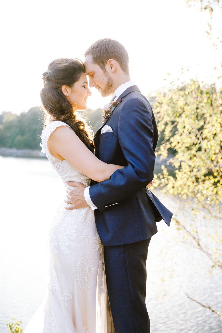 Das Brautpaar im Glück