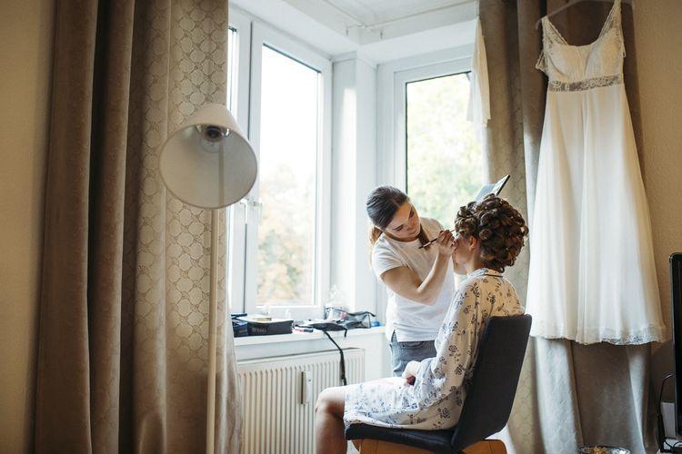 Brautstyling daheim