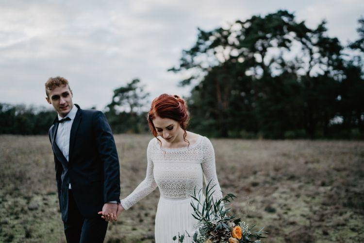 Brautpaar auf der Düne
