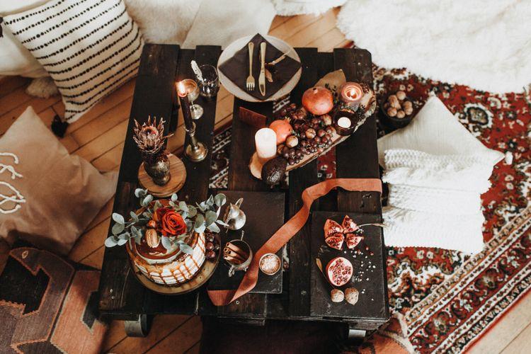 Tischdekoration Orientalisches Liebesmärchen 2.0