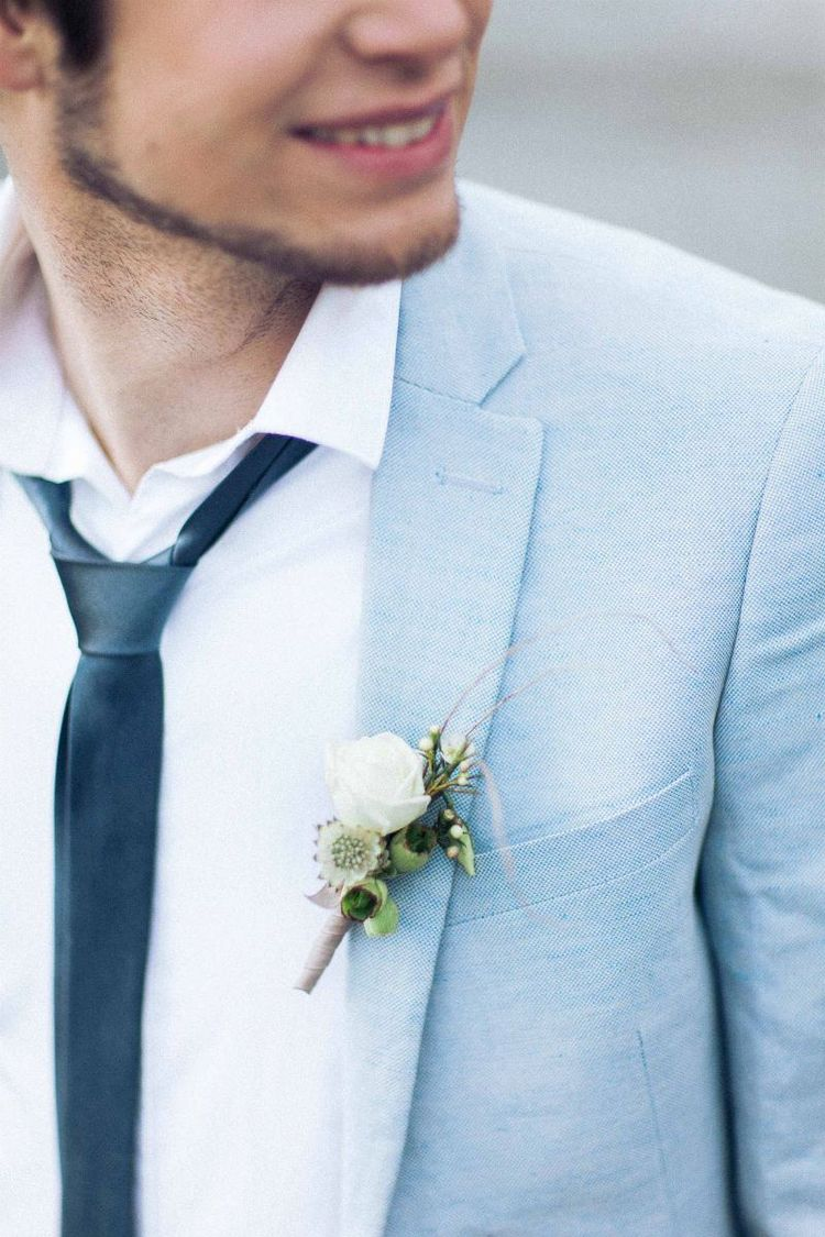 Hochzeitsblüte Bräutigam Hochzeit