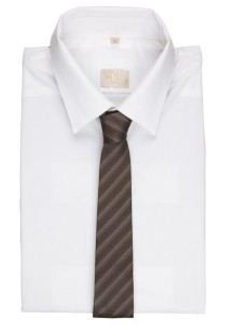Calvin Klein braun Krawatte