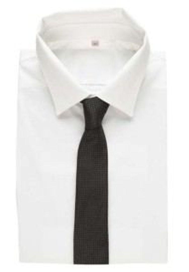 Hugo Boss schwarz Krawatte