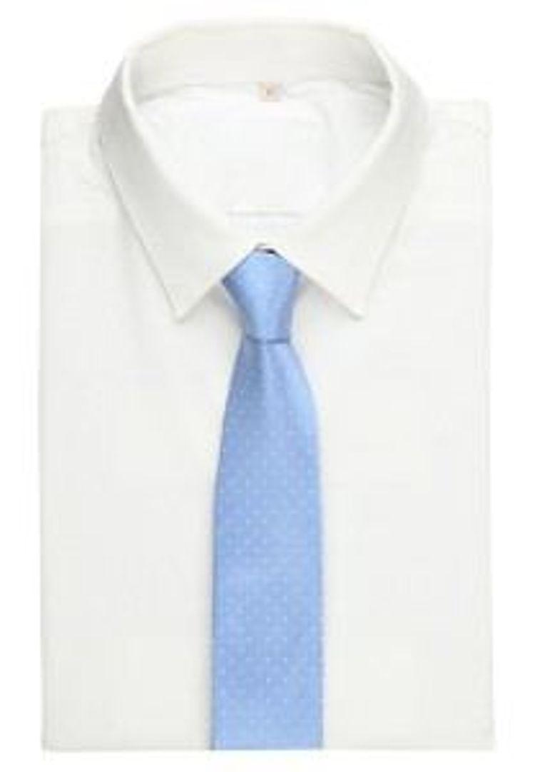 Olymp hellblau Krawatte