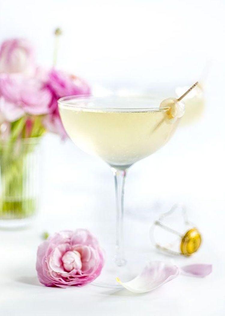 Hochzeits-Cocktails: Lychee Cocktail