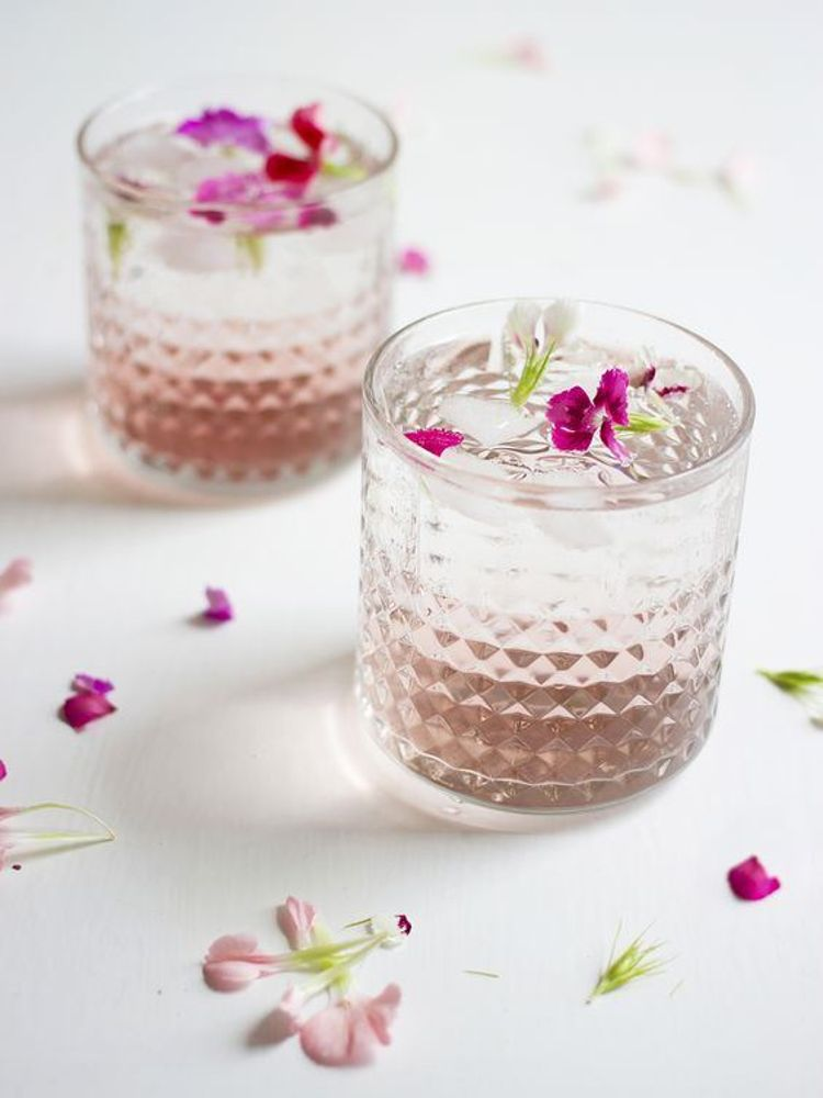 Hochzeits-Cocktails: Raspberry and Rose Cocktail