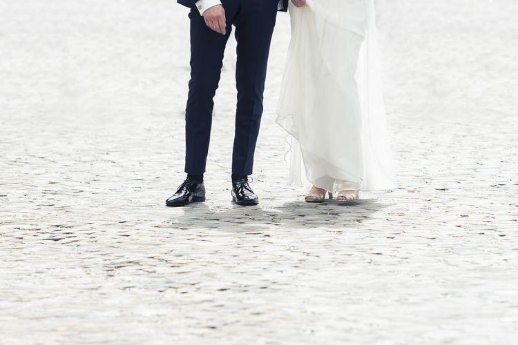 Hochzeitsschuhe für den Bräutigam: Anna und Alfred