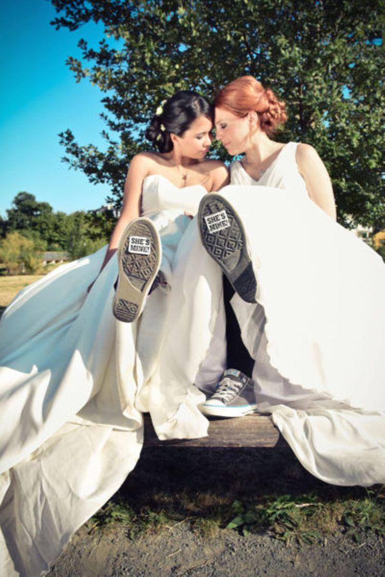 Wenn zwei Frauen heiraten - Gleichgeschlechtliche Hochzeit