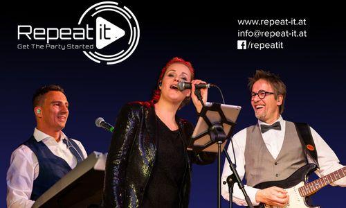 Repeat it - die Tanz- & Partyband! - Hochzeitsband aus Rosenheim