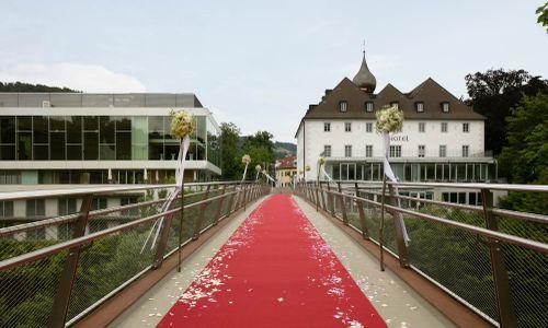 Das Schloss an der Eisenstrasse**** - Hochzeitslocation aus Kronhobl
