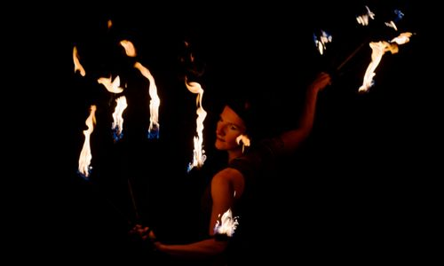 Mancucéla Feuershow - Hochzeitskünstler aus Kißlegg